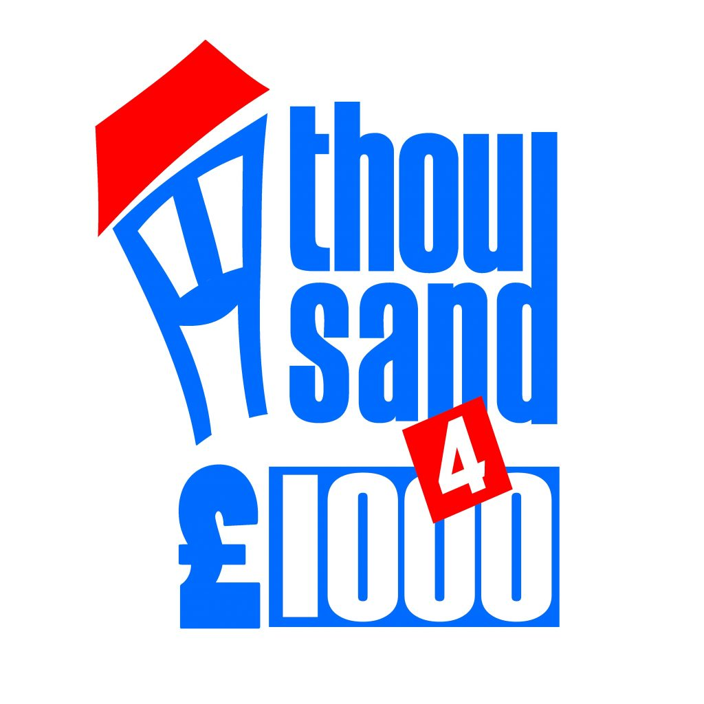Thousand 4 £1000 logo